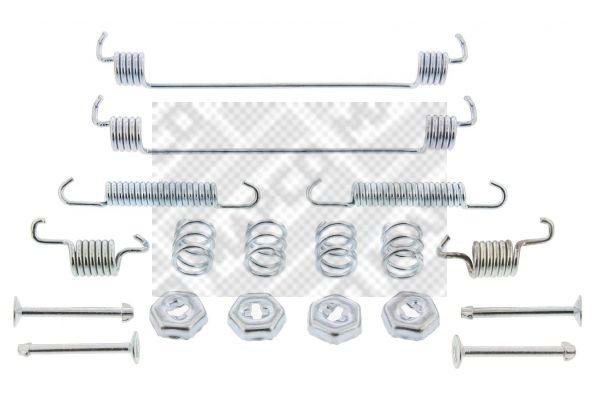 9110 MAPCO Hinterachse Zubehörsatz, Bremsbacken 9110 günstig kaufen