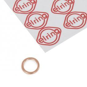 813.036 ELRING Copper Thickness: 2mm, Ø: 20mm, Inner Diameter: 14mm Seal, oil drain plug 813.036 cheap