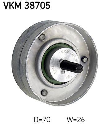 Déviation poulie de guidage VKM 38705 SKF — seulement des pièces neuves