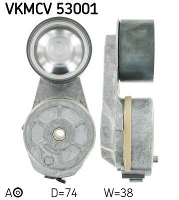 SKF Rolka napinacza, pasek klinowy wielorowkowy do VOLVO - numer produktu: VKMCV 53001