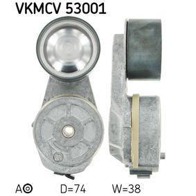SKF Spännrulle, aggregatrem VKMCV 53001 - köp med 31% rabatt