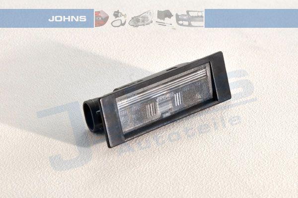 Luce della targa 10 12 87-95 JOHNS — Solo ricambi nuovi