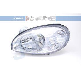 24 01 09 JOHNS Vänster, H4, utam ställmotor för lysviddsreglering, vit Fordonsutrustning: för fordon med lysviddsreglering (el) Huvudstrålkastare 24 01 09 köp lågt pris