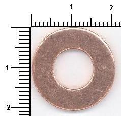 Original Уплътнителен пръстен, пробка за източване на маслото 108.502 Фиат