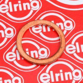 Kúpte a vymeňte Tesniaci krúżok, vypúżżacia skrutka oleja ELRING 110.604
