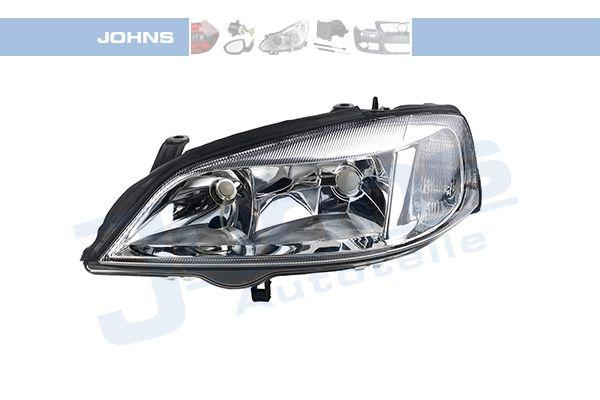 JOHNS: Original Hauptscheinwerfer 55 08 09 (Fahrzeugausstattung: für Fahrzeuge mit Leuchtweiteregelung (elektrisch))