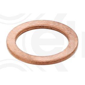 115.100 Уплътнителен пръстен, пробка за източване на маслото ELRING - опит