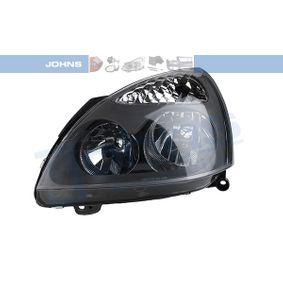60 08 09-5 JOHNS links, H7, H1, ohne Stellmotor für LWR Fahrzeugausstattung: für Fahrzeuge mit Leuchtweiteregelung (elektrisch), Rahmenfarbe: grau Hauptscheinwerfer 60 08 09-5 günstig kaufen