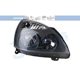 60 08 10-5 JOHNS rechts, H7, H1, ohne Stellmotor für LWR Fahrzeugausstattung: für Fahrzeuge mit Leuchtweiteregelung (elektrisch), Rahmenfarbe: grau Hauptscheinwerfer 60 08 10-5 günstig kaufen