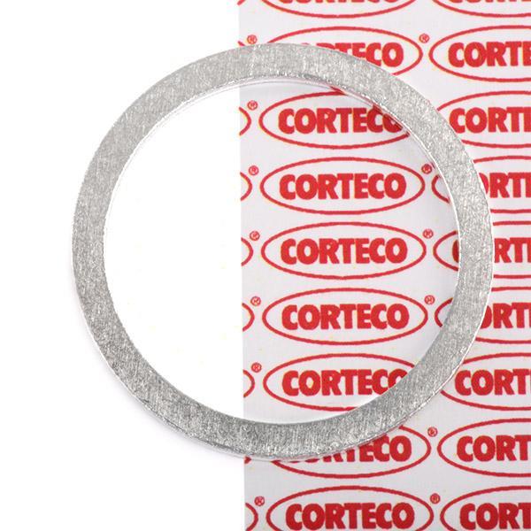 CORTECO: Original Dichtung Ölablaßschraube 005501H (Dicke/Stärke: 1,5mm, Ø: 27mm, Innendurchmesser: 22,2mm)