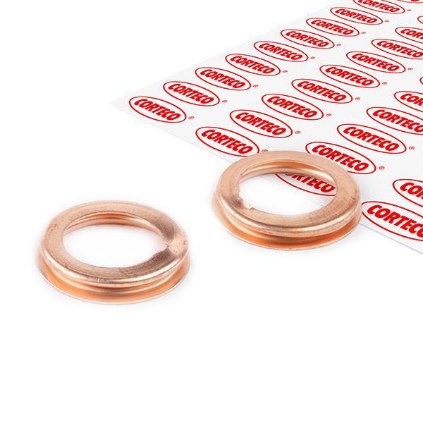 82905568 CORTECO Dicke/Stärke: 3mm, Ø: 17mm, Innendurchmesser: 12mm Ölablaßschraube Dichtung 005568H günstig kaufen