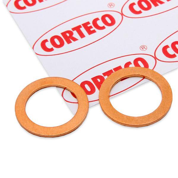 Alfa Romeo 155 1995 Oil seals CORTECO 005569S: Copper