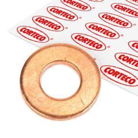 82905696 CORTECO Kupfer Dicke/Stärke: 2mm, Ø: 20,5mm, Innendurchmesser: 10,2mm Ölablaßschraube Dichtung 005696H günstig kaufen