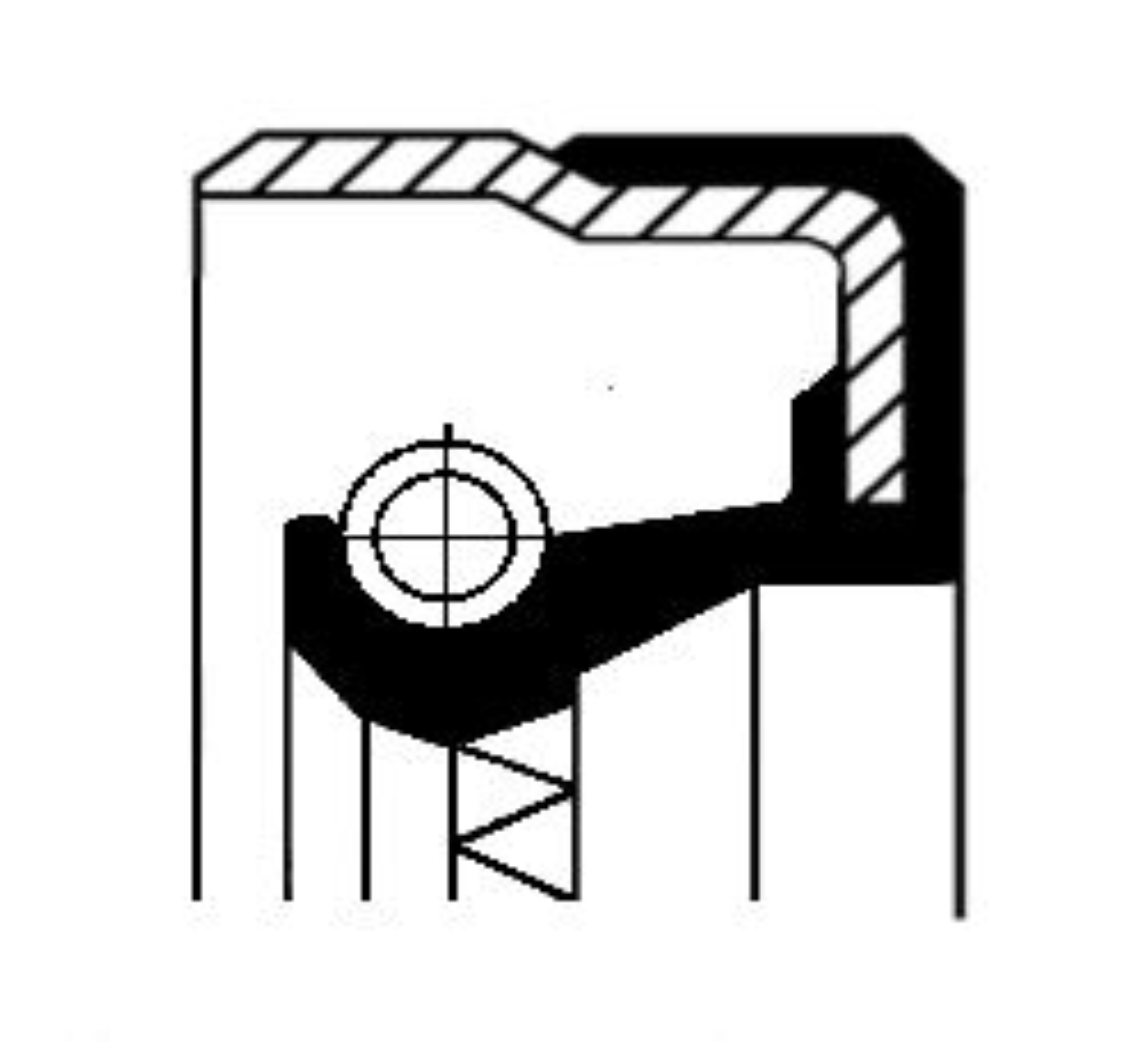CORTECO: Original Wellendichtring, Differential 01019154B ()