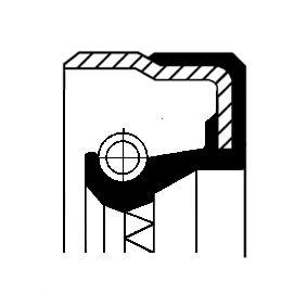 Įsigyti ir pakeisti veleno sandariklis, diferencialas CORTECO 01020315B
