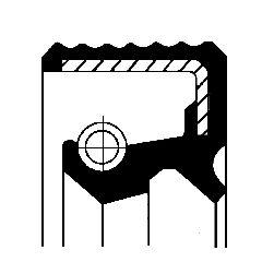 CORTECO Packbox, styrspindel 01026493B till MERCEDES-BENZ:köp dem online
