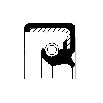 CORTECO Packbox, styrspindel 01027760B till MERCEDES-BENZ:köp dem online