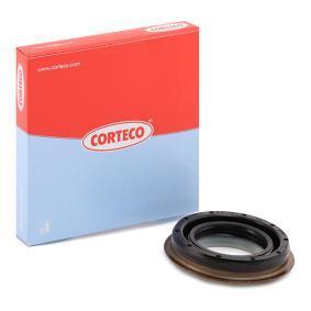 ostke ja asendage Võlli rõngastihend, diferentsiaal CORTECO 01033292B