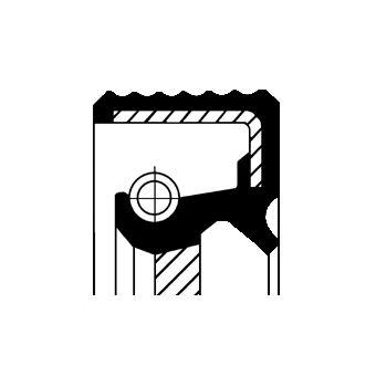 CORTECO: Original Wellendichtring, Schaltgetriebe 01034078B ()