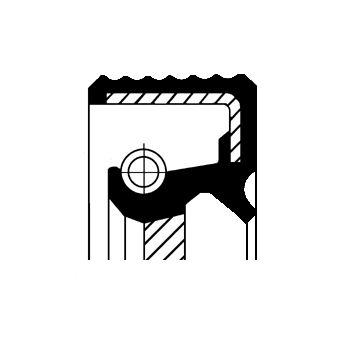 AUDI A6 2014 Wellendichtring, Schaltgetriebe - Original CORTECO 01036301B
