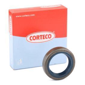 Kúpte a vymeňte Tesniaci krúżok hriadeľa manuálnej prevodovky CORTECO 12001623B