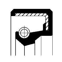 Dichtung, Einspritzpumpe CORTECO 12010819B