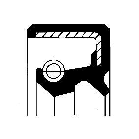 Kupte a vyměňte Tesnici krouzek hridele, hridel prevodovky CORTECO 12011157B
