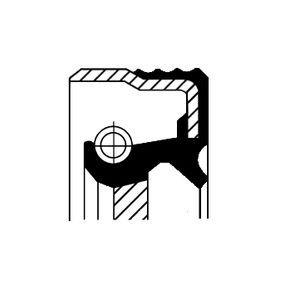Kúpte a vymeňte Tesniaci krúżok predlohového hriadeľa CORTECO 12015093B