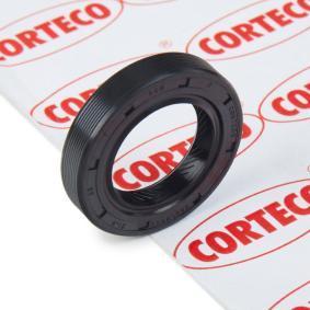 Kupte a vyměňte Tesnici krouzek hridele, hridel prevodovky CORTECO 12015554B