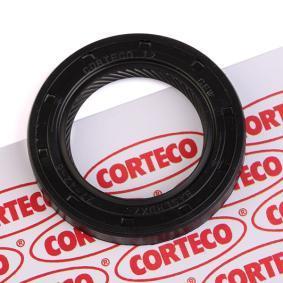 ostke ja asendage Võlli rõngastihend, Käigukast CORTECO 12015750B