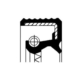 Kupte a vyměňte Tesnici krouzek hridele, diferencial CORTECO 12018948B