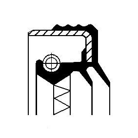 12019597B Oljetätningsring, manuell transmission CORTECO - Upplev rabatterade priser