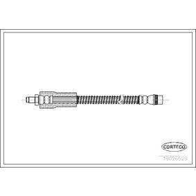 19026529 CORTECO Vorderachse Länge: 320mm Bremsschlauch 19026529 günstig kaufen