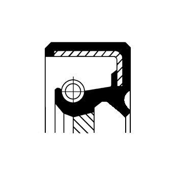 OPEL CORSA Verteilergetriebe Einzelteile - Original CORTECO 19026785B