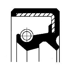 NISSAN MICRA 2020 Wellendichtring, Schaltgetriebe - Original CORTECO 19027894B