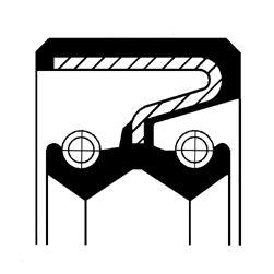 CORTECO: Original Verteilergetriebe Einzelteile 19027897B ()