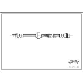 19030134 CORTECO Vorderachse Länge: 460mm Bremsschlauch 19030134 günstig kaufen