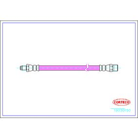 19030150 CORTECO Hinterachse Länge: 515mm Bremsschlauch 19030150 günstig kaufen
