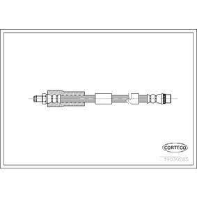 19030285 CORTECO Vorderachse Länge: 420mm Bremsschlauch 19030285 günstig kaufen