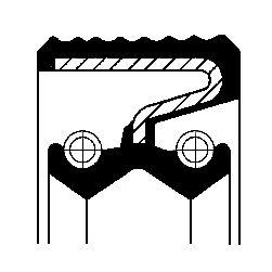 CORTECO: Original Verteilergetriebe Einzelteile 19033802B ()