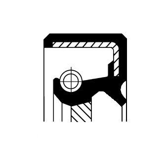 NISSAN PATHFINDER 2019 Wellendichtring, Schaltgetriebe - Original CORTECO 19034991B