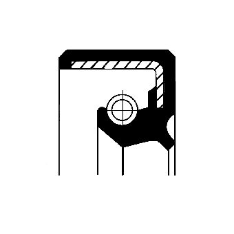Tihendikomplekt, hüdraulikapump 19035253B CORTECO - ainult uued varuosad