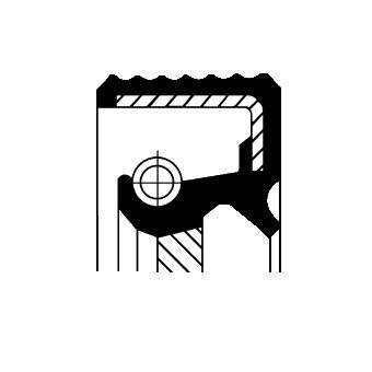 20015455B Radialwellendichtring CORTECO - Markenprodukte billig