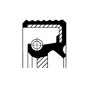 DODGE JOURNEY 2017 Kurbelwellensimmering - Original CORTECO 20020389B