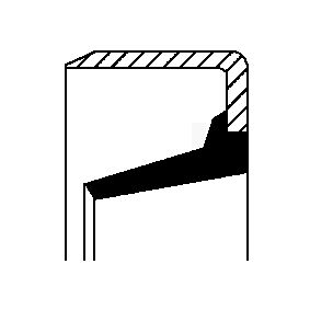 Kupte a vyměňte Tesnici krouzek hridele, hridel prevodovky CORTECO 20026879B