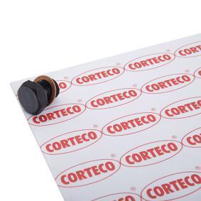 84920124 CORTECO med packbox, Gängmått: M 14 x 1,50 Låsskruv, oljetråg 220124S köp lågt pris