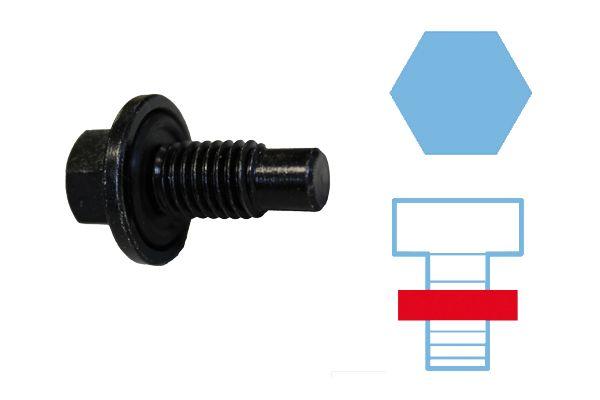 84920129 CORTECO mit Dichtring, SW: 15, Gewindemaß: M 12 x 1,75 x 17 Verschlussschraube, Ölwanne 220129S günstig kaufen