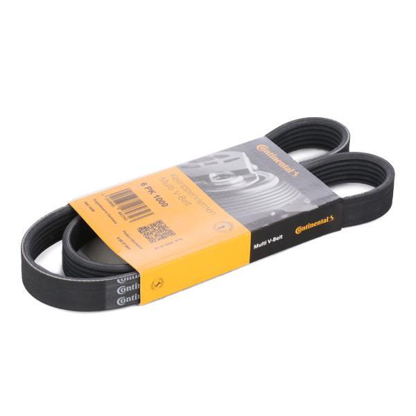 V-Ribbed Belts CONTITECH 6PK1000 Reviews