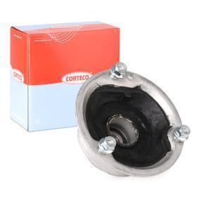 80001279 CORTECO Framaxel, båda sidor Fjäderbens-stödlager 80001279 köp lågt pris