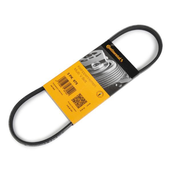 V-Ribbed Belts CONTITECH 3PK675 Reviews